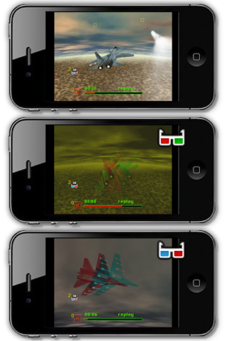 Screenshot Mini-Jetfight Stereoscopic Edition